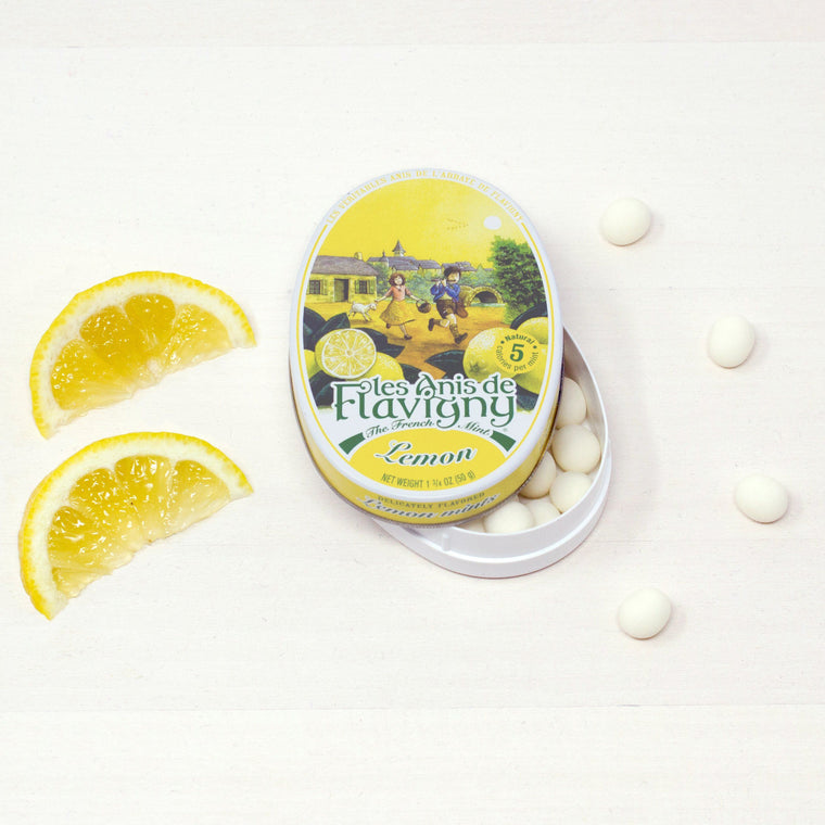 French Anis of Flavigny Lemon Candy | Citron Bonbons