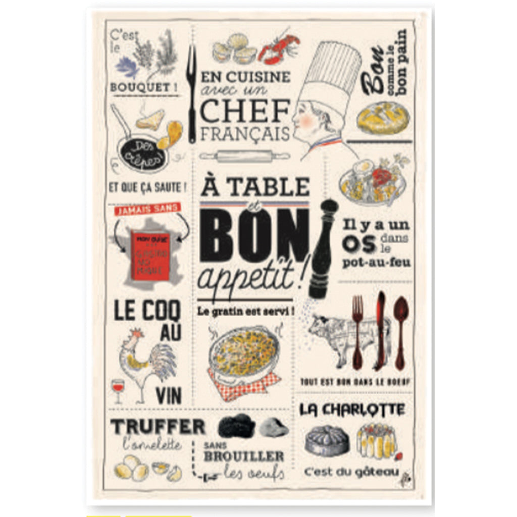 Bon Appétit Kitchen Towel