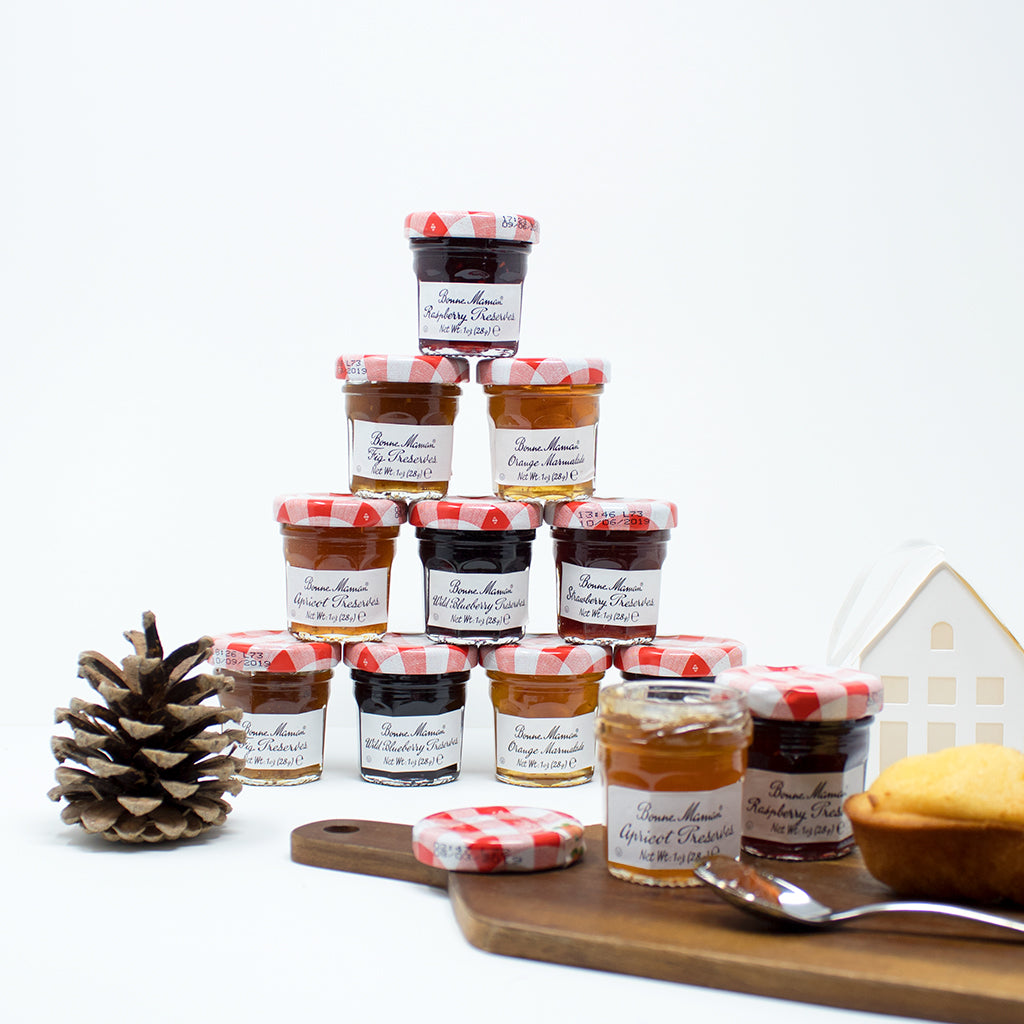 Bonne Maman 12 Mini Jams Assortment