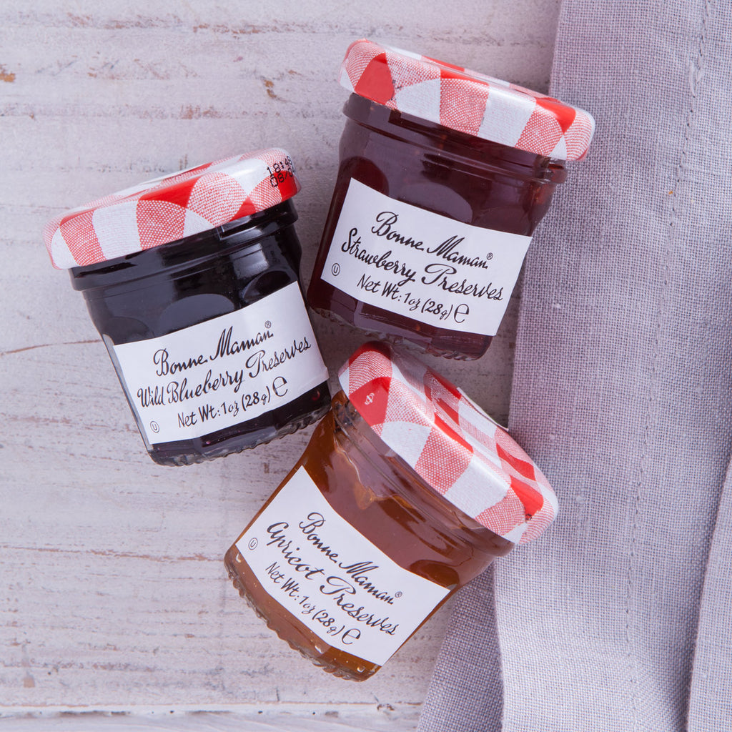 Bonne Maman French Mini Jams Gift Francophiles Strawberry Abricot