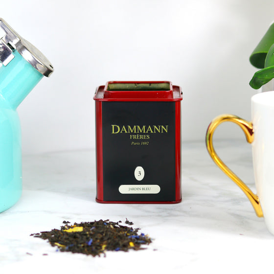Damman Freres Loose Jardin Bleu Red Fruits French Tea
