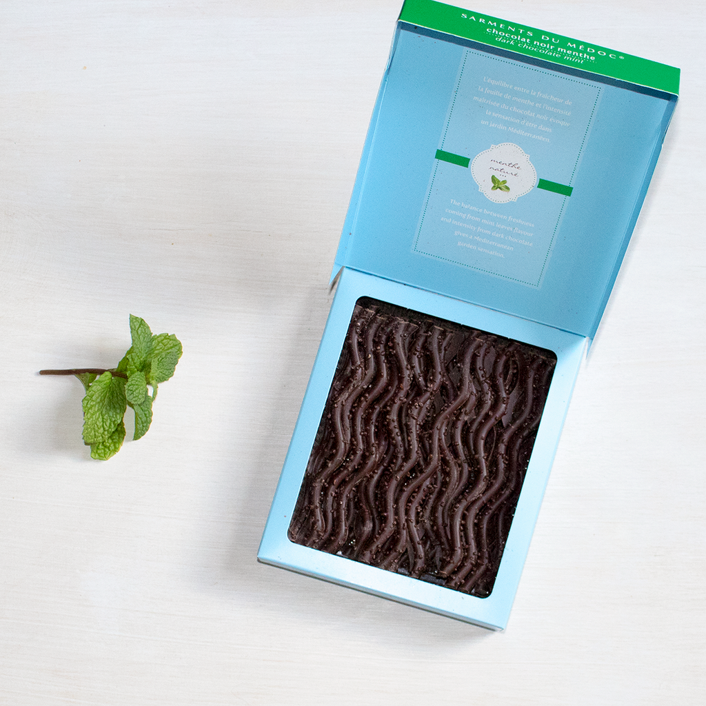 Dark Chocolate Mint Twigs French Holiday Gifts Francophile