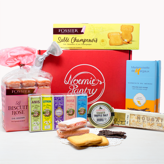 Large French Holiday Box