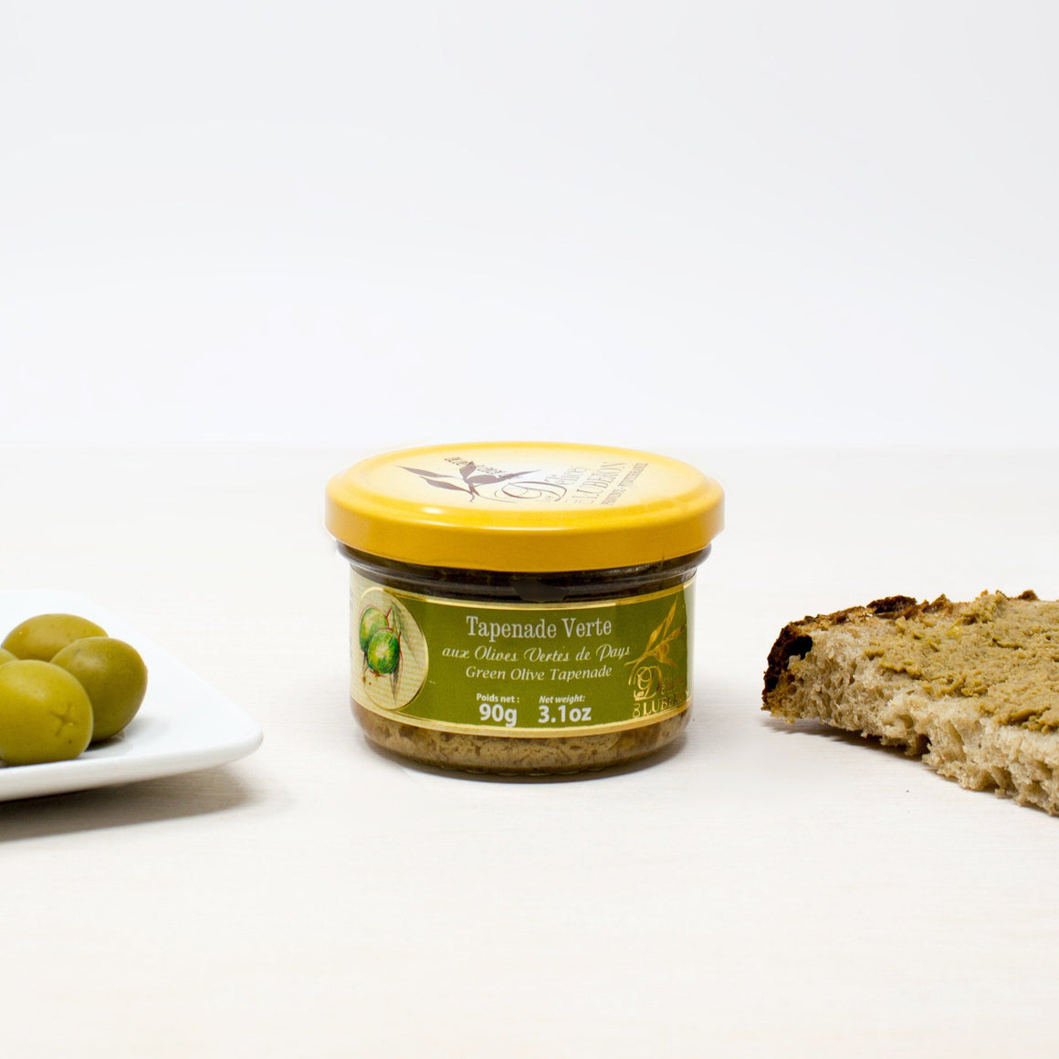 French Green Olive Spread - Tapenade d'Olives Vertes Provence