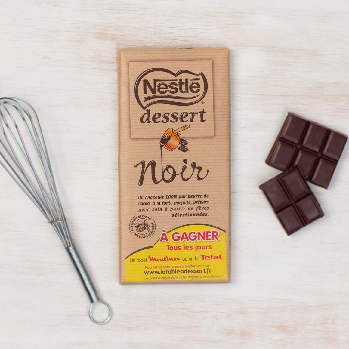 Nestle Dessert Chocolat Noir - French Baking Chocolate