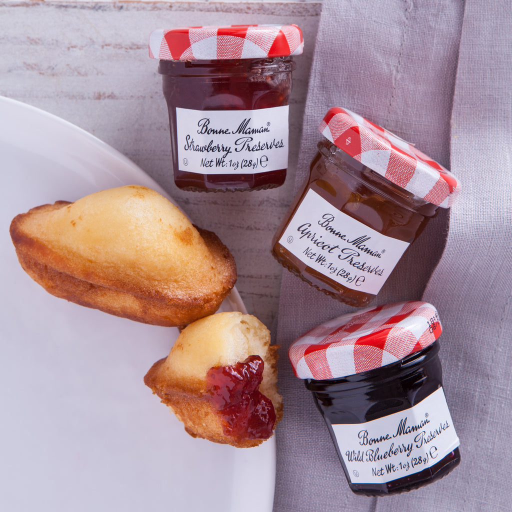 Bonne Maman French Mini Jams Gift Francophiles Madeleines Cookies France