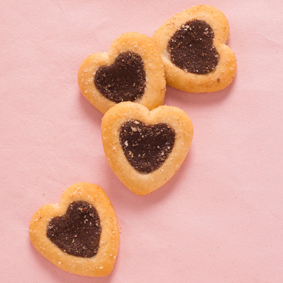 LU Petits Coeurs (Little Hearts) Cookies (2 boxes)