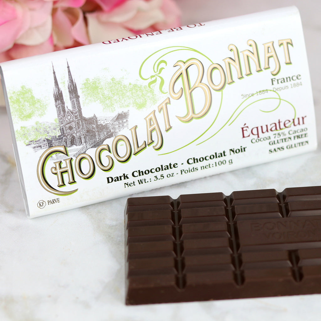 Single Origin French Dark Chocolate Bonnat from Ecuador