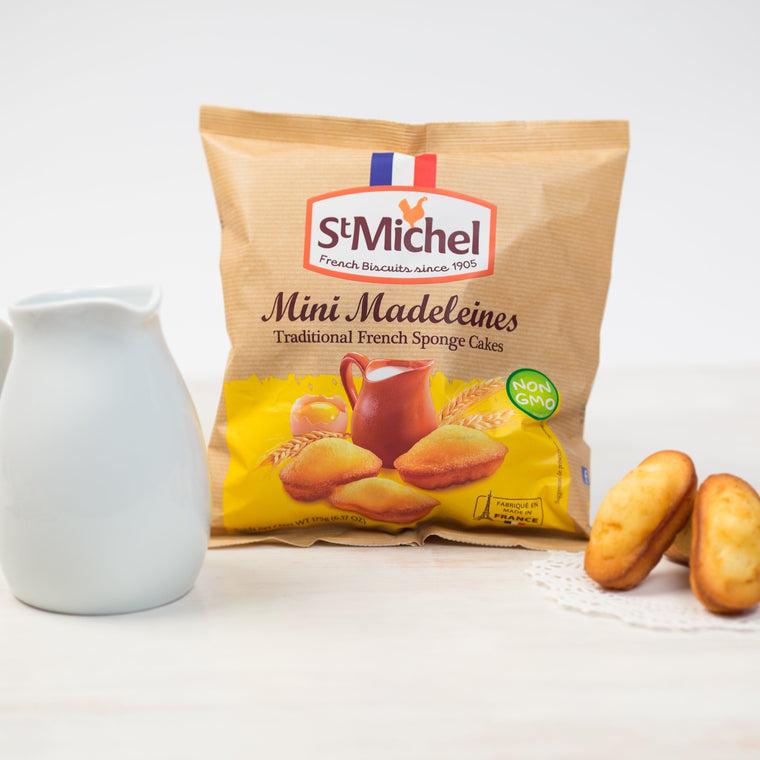 St Michel Mini madeleine - French Mini Sponge Cake