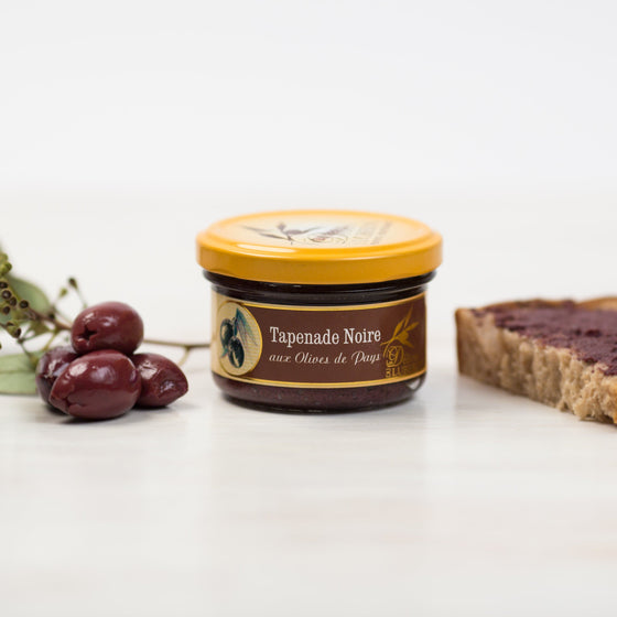 Tapenade d'Olives Noires - French Black Olive Spread