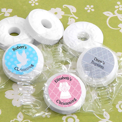 Life Savers Baptism Favors and Christening Favors