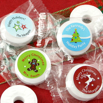 Personalized Christmas Life Savers