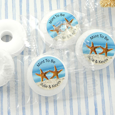 Kissing Starfish Personalized Life Savers