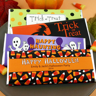Personalized Halloween Hershey Bars