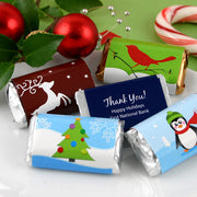 Personalized Christmas Hershey Miniatures