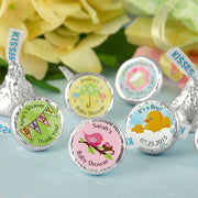 Hershey Kisses Baby Shower Favors, personalized hershey kisses