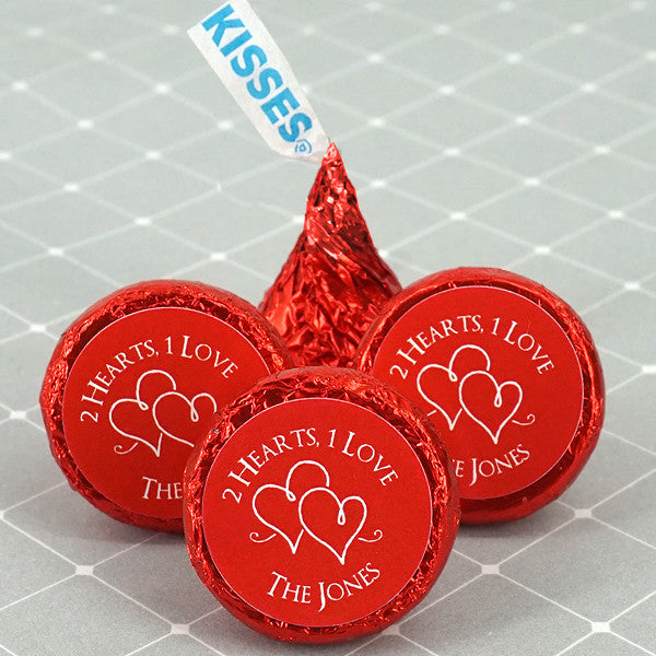 Personalized Hershey Kisses, new hershey kisses, red hershey kisses