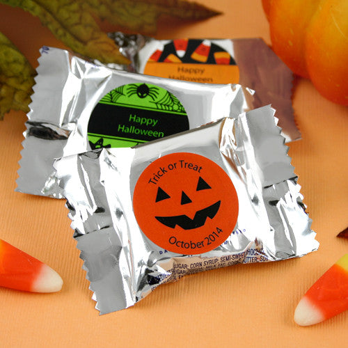 Personalized Halloween York Peppermint Patties
