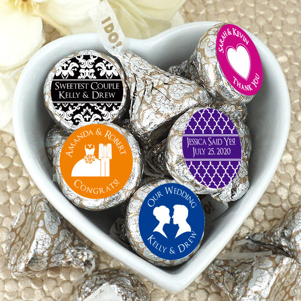 Hershey's Iconic Plume Kisses - Silhouette Collection