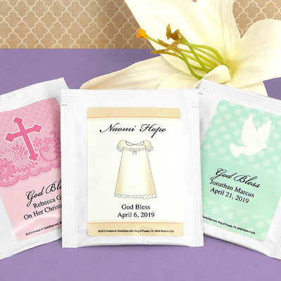 Baptism Tea Favors