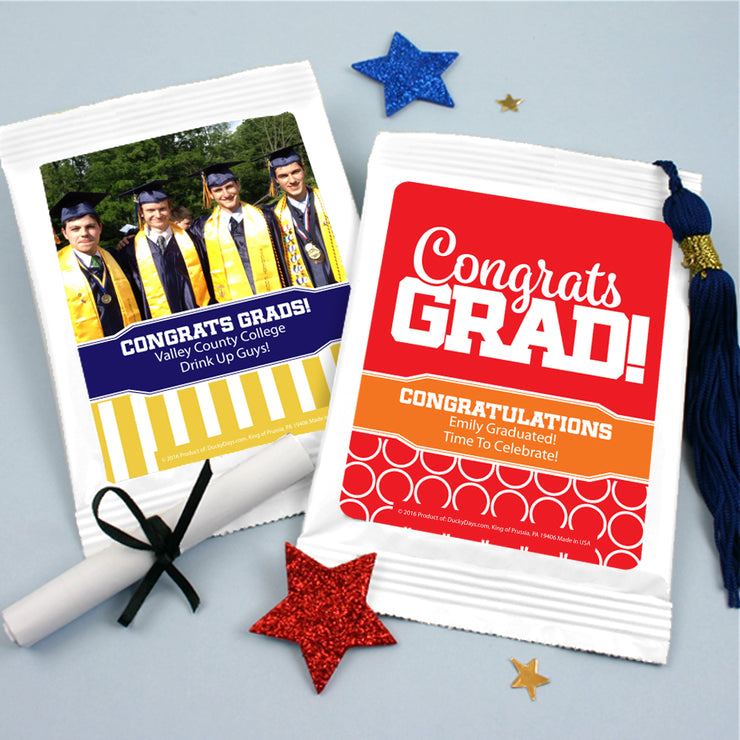 Graduation Lemonade Favors