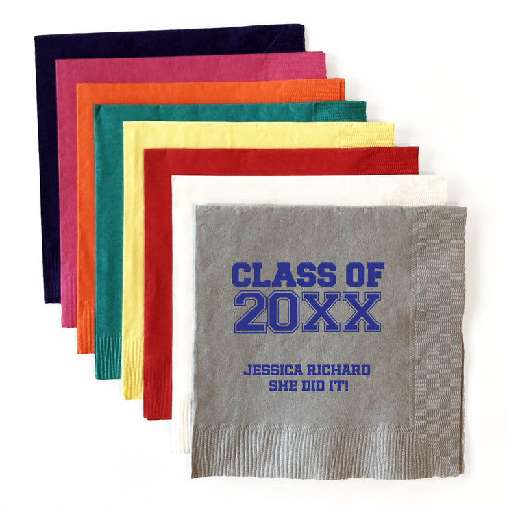 Graduation Luncheon Napkins (Set of 50)