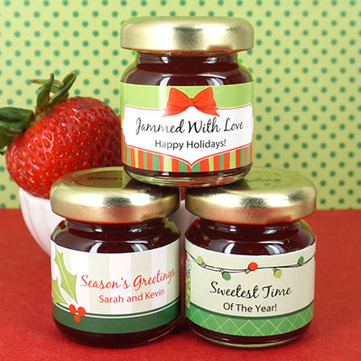 Holiday Jam Favors