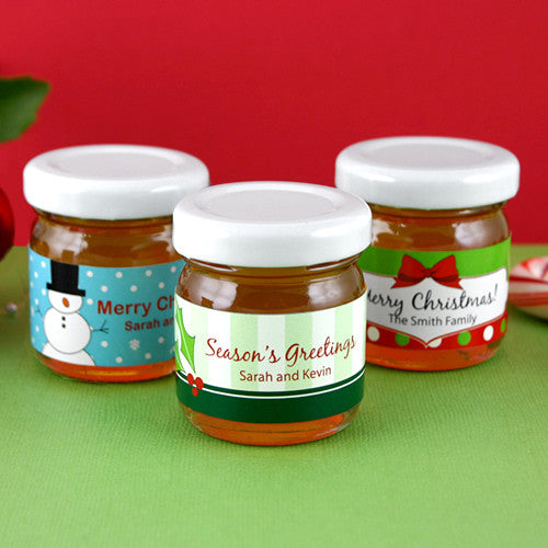 Holiday Honey Favors