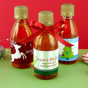 Holiday Syrup Favors