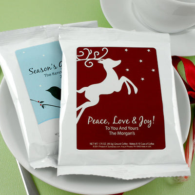 Holiday Coffee Favors