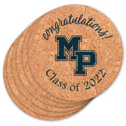 MP Graduation Cork Coasters (Set of 6)