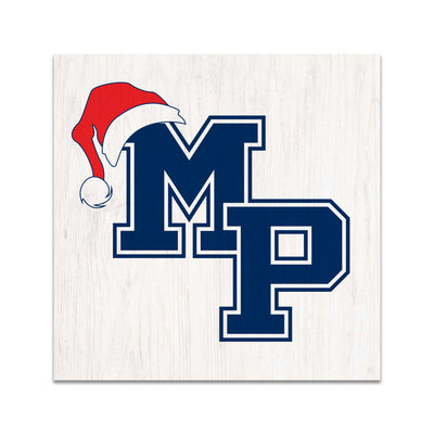 MP Logo Christmas Wood Table Sign