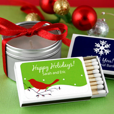 Christmas Personalized Matchboxes