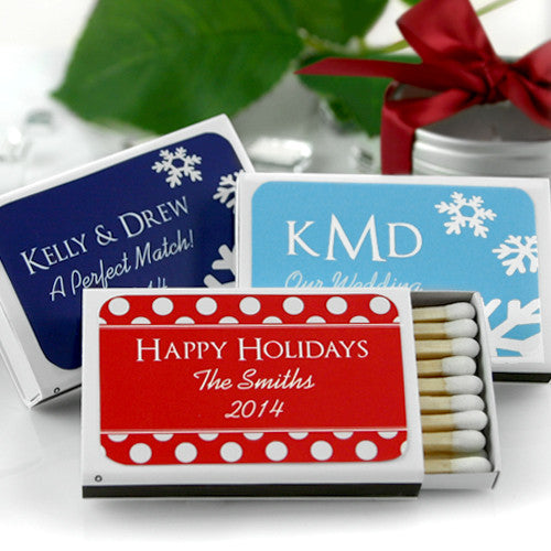Personalized Matchboxes