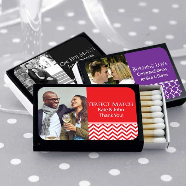 Photo Personalized Matchboxes