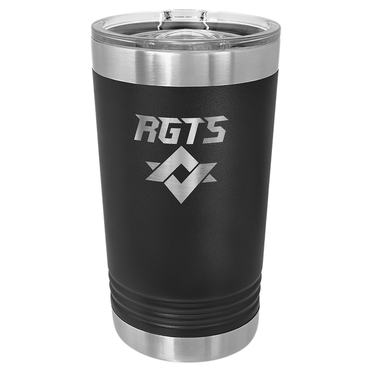 Custom 16 oz. Pint Insulated Tumbler with Slider Lid