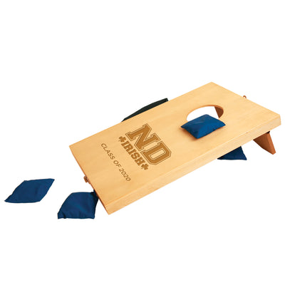 ND Custom Mini Tabletop Bean Bag Toss Cornhole Game