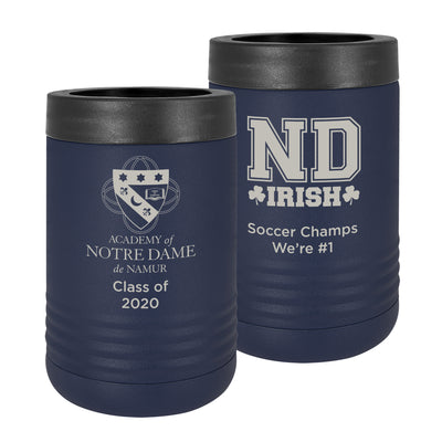 ND Stainless Steel Navy Blue Vacuum Insulated Beverage Holder