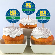 ND Personalized Cupcake Toppers (Set of 30)