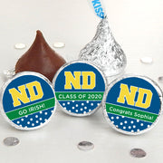 Notre Dame Personalized Hershey Kisses (Set of 100)
