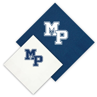 Malvern Prep Logo Napkins (Choice of Size and Color) (Sets of 25)