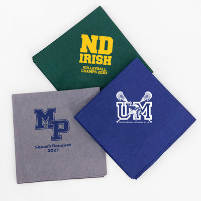 Custom Logo Beverage Napkins (Set of 50)