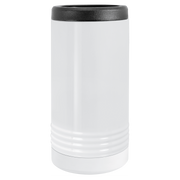 Custom Slim White Vacuum Insulated Beverage Holder
