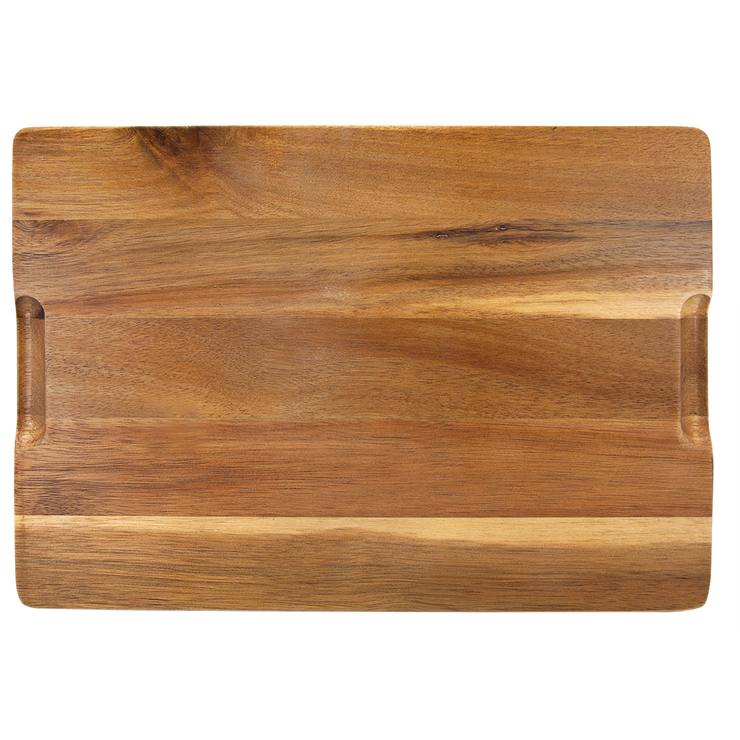UM Lacrosse Acacia Wood and Slate Cutting Board