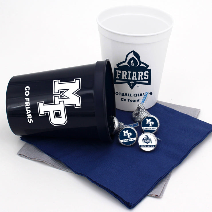 MP Graduation 16oz Stadium Cups (2 Colors Available) (Set of 25)