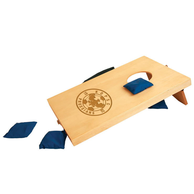 KOPSC Prussians Mini Tabletop Bean Bag Toss Cornhole Game