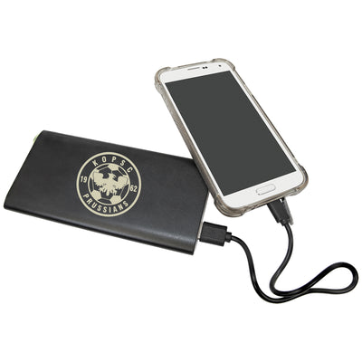 KOPSC Prussians Black Power Bank & Wireless Charger