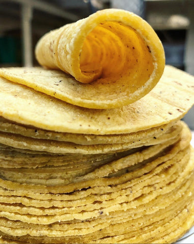 KOTO Yellow Corn tortillas - 1 Dozen