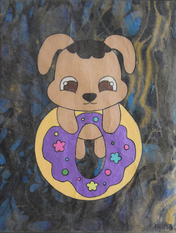 Donut Brown Bear