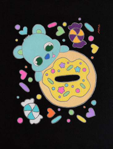 Donut Bear Blue